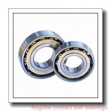 20 mm x 47 mm x 14 mm  NACHI 7204CDB angular contact ball bearings
