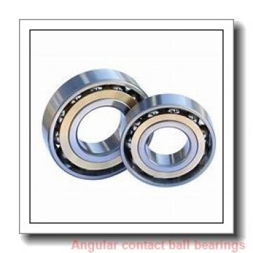 45 mm x 100 mm x 25 mm  ISO 7309 B angular contact ball bearings