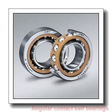 42 mm x 72 mm x 38 mm  PFI PW42720038CS angular contact ball bearings