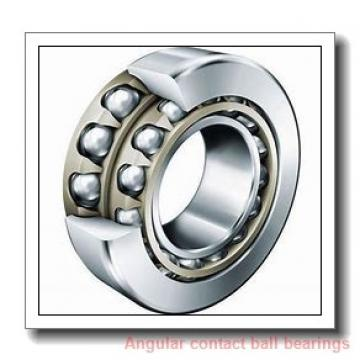 Toyana 3205-2RS angular contact ball bearings