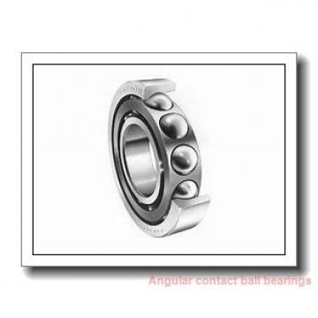ISO QJ309 angular contact ball bearings
