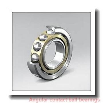 45 mm x 85 mm x 19 mm  SKF SS7209 CD/P4A angular contact ball bearings