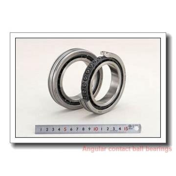 10 mm x 30 mm x 14,3 mm  PFI 5200-2RS C3 angular contact ball bearings
