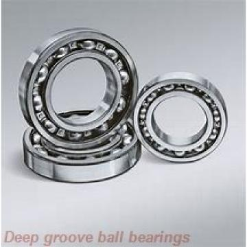 85 mm x 180 mm x 41 mm  ISB 6317-Z deep groove ball bearings