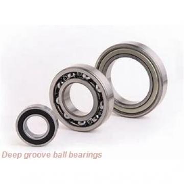 90,000 mm x 190,000 mm x 96 mm  SNR UC318G2 deep groove ball bearings