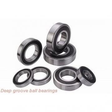 35 mm x 72 mm x 17 mm  FAG 6207-2Z deep groove ball bearings