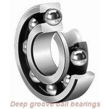 17 mm x 52 mm x 21 mm  FBJ 62304/17-2RS deep groove ball bearings