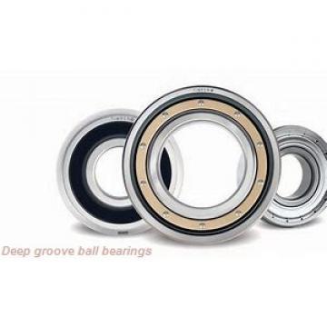 60 mm x 110 mm x 22 mm  KBC 6212 deep groove ball bearings