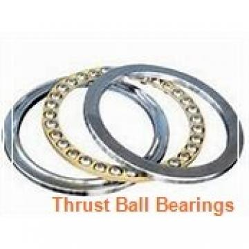 50 mm x 100 mm x 20 mm  NSK 50TAC100B thrust ball bearings