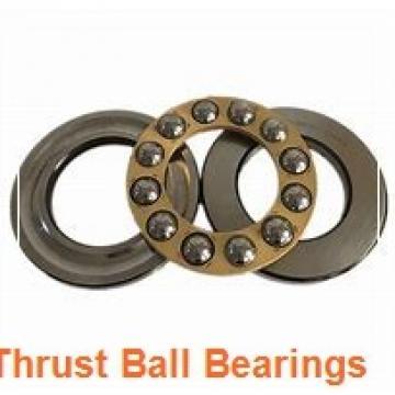 35 mm x 85 mm x 47 mm  NKE 52309 thrust ball bearings