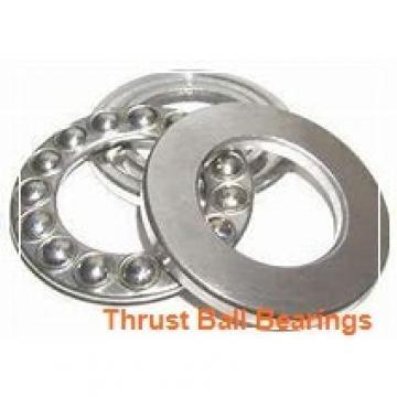 30 mm x 62 mm x 8 mm  ISB 52207 thrust ball bearings