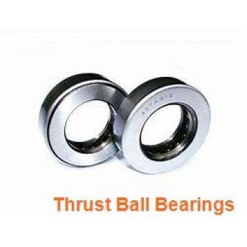 35 mm x 80 mm x 21 mm  SKF BSA 307 CG thrust ball bearings