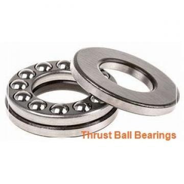 160 mm x 340 mm x 68 mm  SKF NU 332 ECM thrust ball bearings