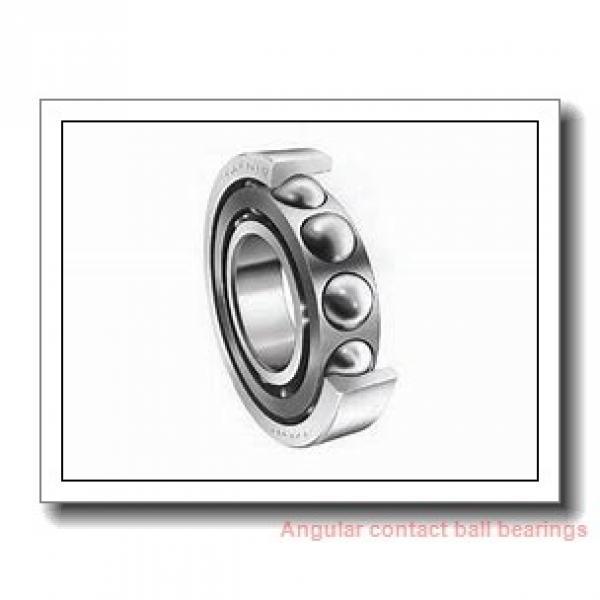 75 mm x 130 mm x 25 mm  NTN 7215CG/GNP4 angular contact ball bearings #1 image